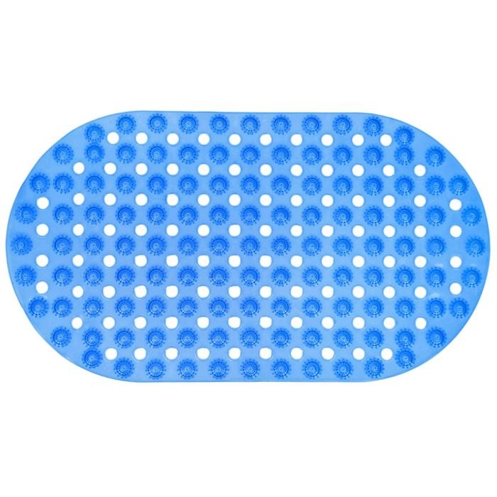 "SPA-коврик для ванны ""Ребристый круг"", цвет МИКС"