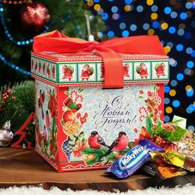 """Новогодний подарок """"Кубик Сувенир"""" картонная упаковка, 700 г"""