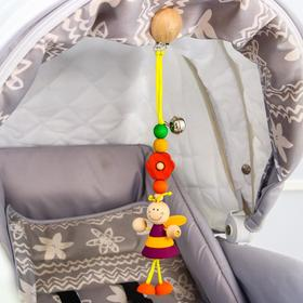 Игрушка - подвеска на кроватку/коляску «Пчелка Маша» эко прорезыватель