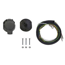 Комплект электрики Rival универсальный (резетка 7-pin + электропроводка 1,7 метра), F.PR17 Ош