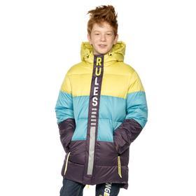 Куртка для мальчиков, рост 122 см цвет оливковый