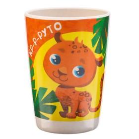 Стакан детский из бамбука «Пингвин», 240 мл