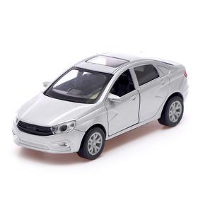 Машина металлическая Auto-RUS, инерция, открываются двери, МИКС