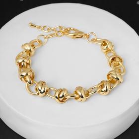 Magic chain bracelet, gold color