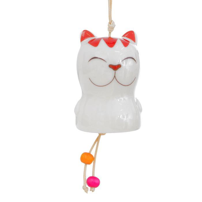 Колокольчик керамический «Котик», виды МИКС - фото 642079