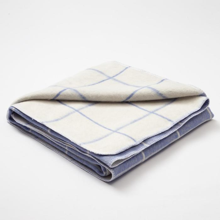 "Одеяло ""Крошка Я"" Клетка, 110х145 см, 78% хл., 22% п/э"