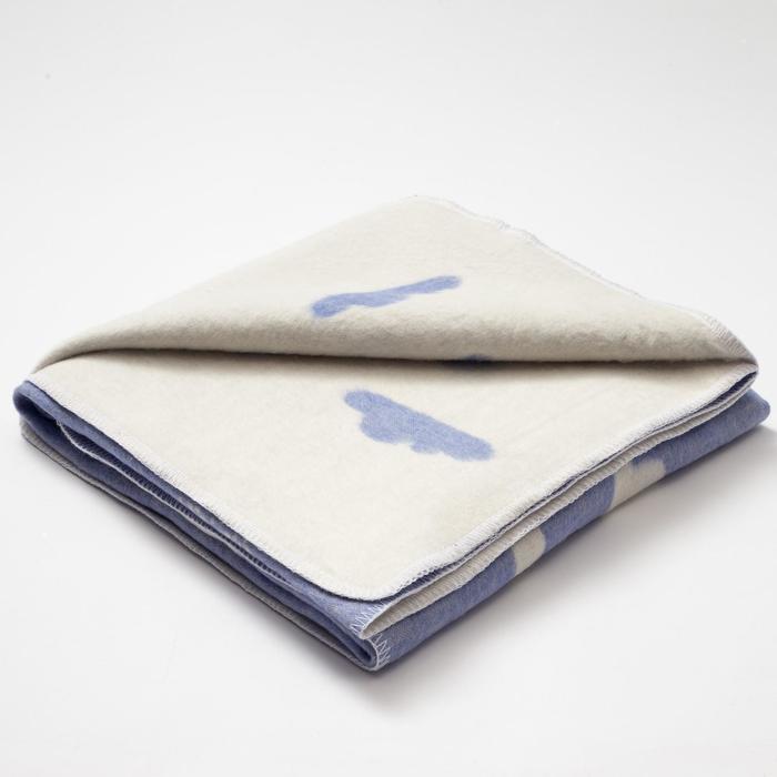 "Одеяло ""Крошка Я"" Clouds, 110х145 см, 78% хл., 22% п/э"