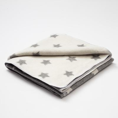 "Blanket ""Ethel"" Star, 147x212 cm, 78% cotton, 22% p/e"
