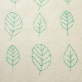"Одеяло ""Этель"" Leaves, 147х212 см, 78% хл., 22% п/э - фото 62540"