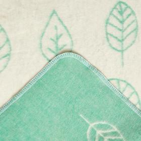"Одеяло ""Этель"" Leaves, 147х212 см, 78% хл., 22% п/э - фото 62542"