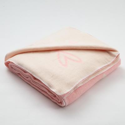 "Blanket ""Ethel"" Heart, 147x212 cm, 78% cotton, 22% p/e"