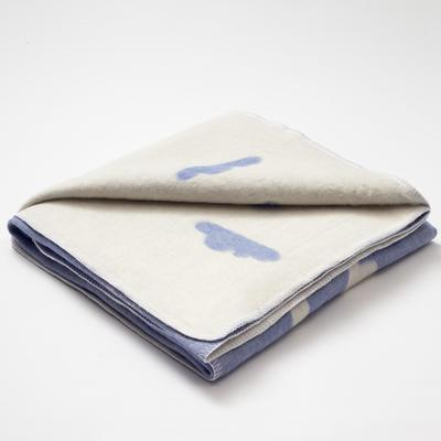 "Blanket ""Ethel"" Clouds, 147x212 cm, 78% cotton, 22% p/e"