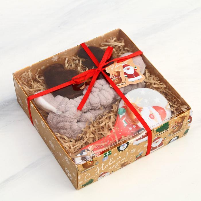 Подарочный набор «Весёлый праздник» 19 х 6,5 х 19 см
