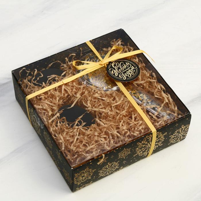 Подарочный набор «Искры золота» 19 х 6,5 х 19 см