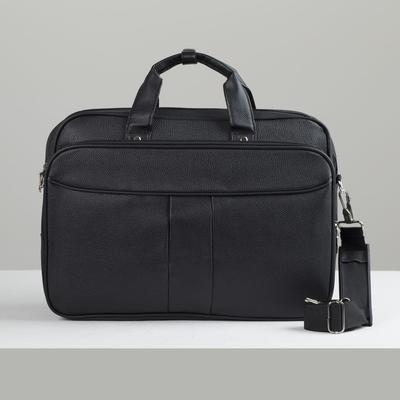Bag of cases 83, 39*10*28, zippered otd, n/a pocket, black