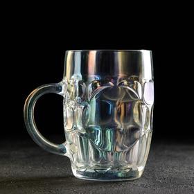 Кружка для пива «Высшая лига», 500 мл, 10×14 см, цвет хамелеон