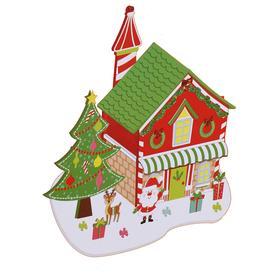 Набор для творчества - создай новогоднее украшение «Резеденция Деда Мороза»