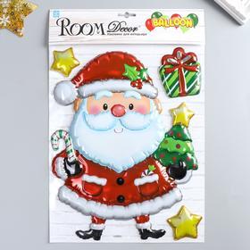 "Объёмная наклейка Room Decor ""Санта"" 27х35 см"