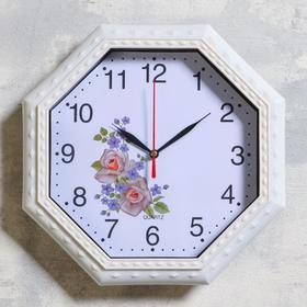"""Часы настенные """"Дами"""" d=26 см, плавный ход, микс"""