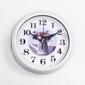 """Часы настенные """"Талли"""", плавный ход, 20 х 20 см, d  циферблата=17 см"""