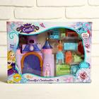 Castle for dolls, with figures, with accessories, MIX