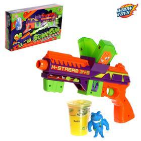 "WOOW TOYS Пистолет, стрелящий слаймами ""SlimeGun"", SL-04362, цвета МИКС"