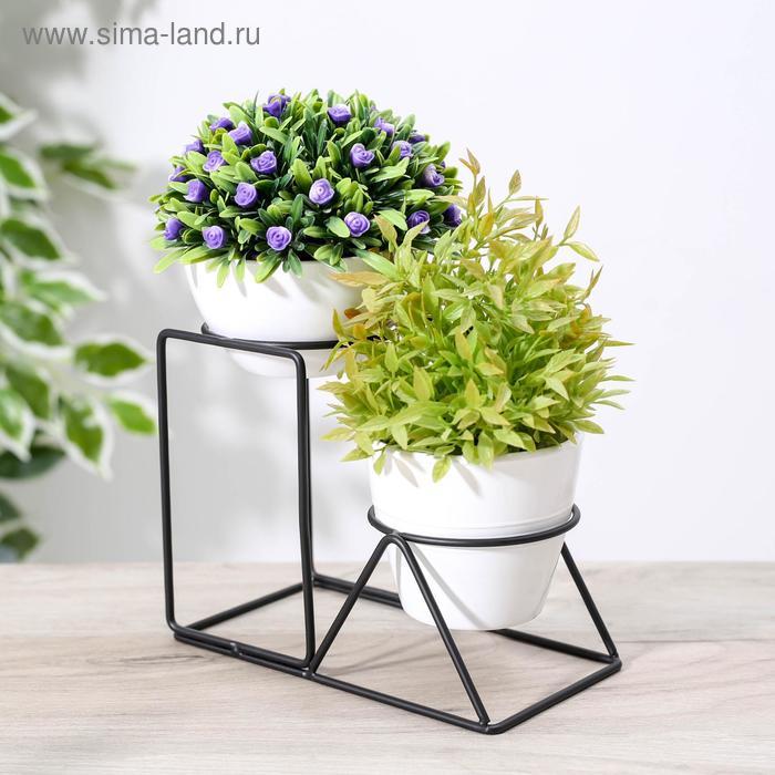 """Stand for flowers """"Geometrik"""" 18x9,6x14,5 cm"""