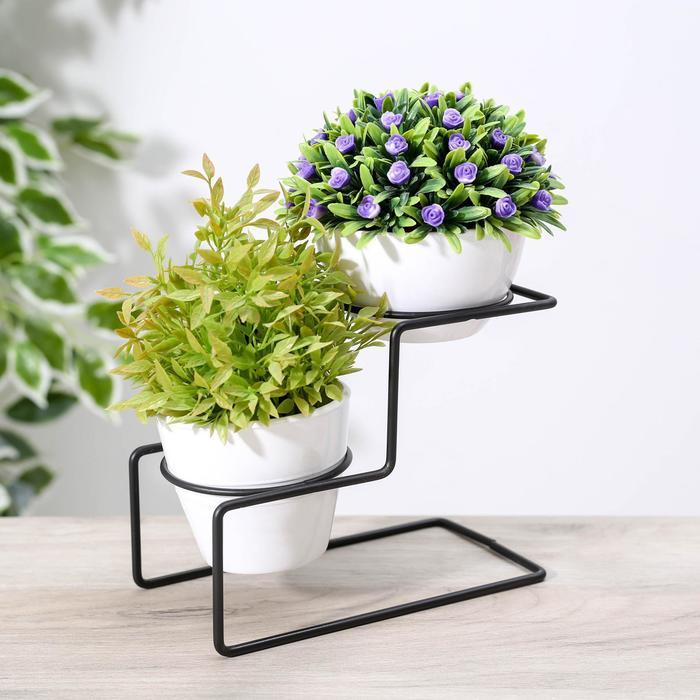 """Stand for flowers """"Geometrik"""" 18x9,9x14 cm"""