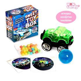 WOOW TOYS Sweet toy box Игрушка сюрприз и конфеты, тачки