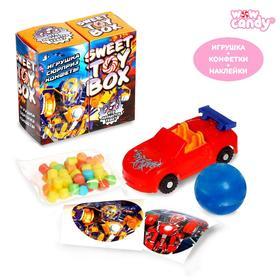 WOOW TOYS Sweet toy box Игрушка сюрприз и конфеты, трансформер
