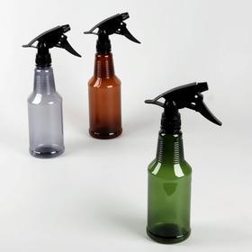 Hair spray 500ml 25.5*12*7cm transparent/cinnamon