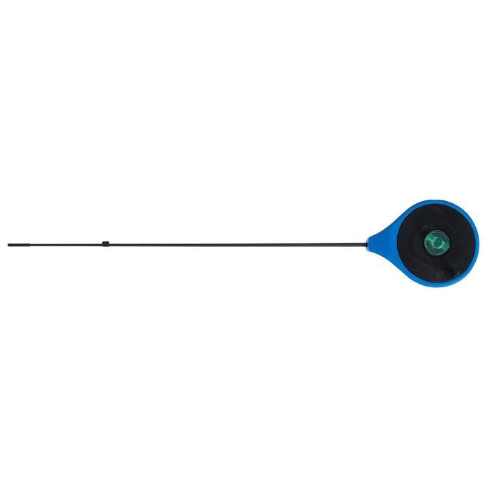 Удочка зимняя Helios RBUZ, хлыст стеклопластик, цвет синий