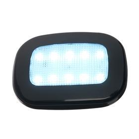 Led light on a magnet in the car, 10 LED, black