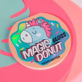 Запечённый хайлайтер для естественного сияния кожи Magic Donut