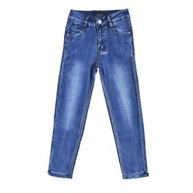Утеплённые брюки для девочек, рост 116 см