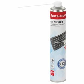 Баллон д/очистки офисной техники, BRAUBERG, со сжатым воздухом, 1000 мл, 513317 Ош