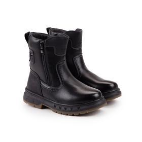 Ботинки, цвет чёрный, размер 35