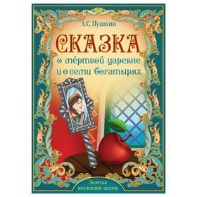 Книга «Сказка о мёртвой царевне и о семи богатырях. Пушкин А.С.» 28 стр. *