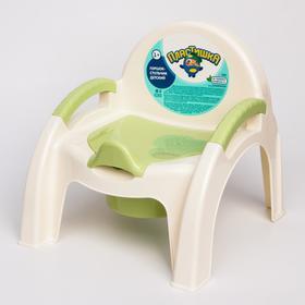 Горшок-стульчик, цвет салатовый