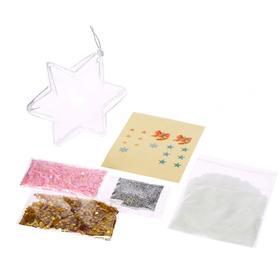 Набор для опытов Новогодняя игрушка своими руками, звёздочка, в пакете