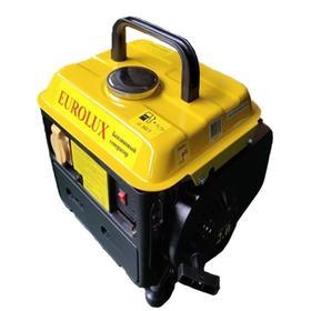 Генератор Eurolux G950A , бензиновый, 220 В, 2Т, 950 Вт, 2 л.с., 4.2 л, ручной старт