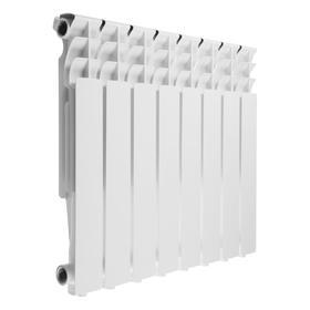 Радиатор алюминиевый Oasis ЭКО, 500 × 80 мм, 8 секций