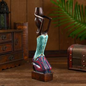 """Сувенир из дерева """"Кахайя"""" 7х5х30 см"""
