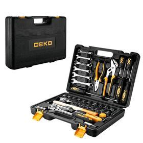 Набор инструментов для авто и дома DEKO DKMT63 065-0731, 63 предмета