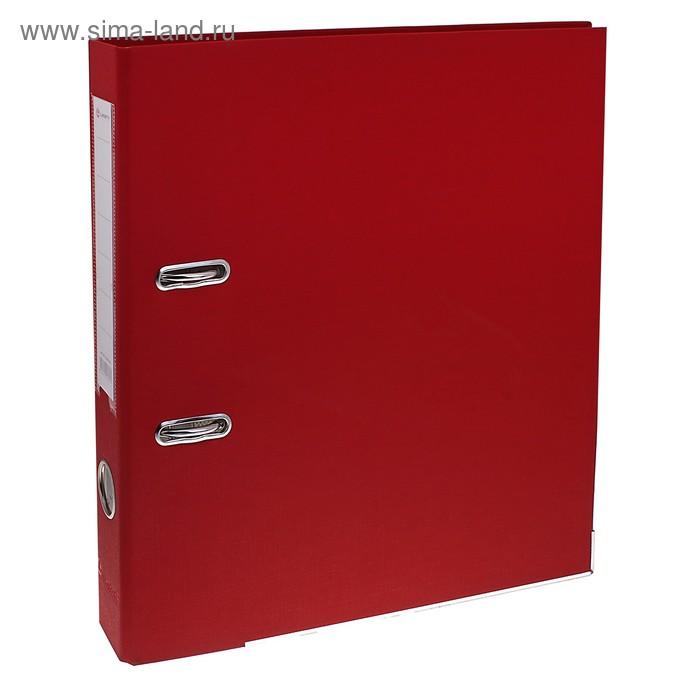 Папка-регистратор А4, 50мм Lamark металлический уголок, Красная
