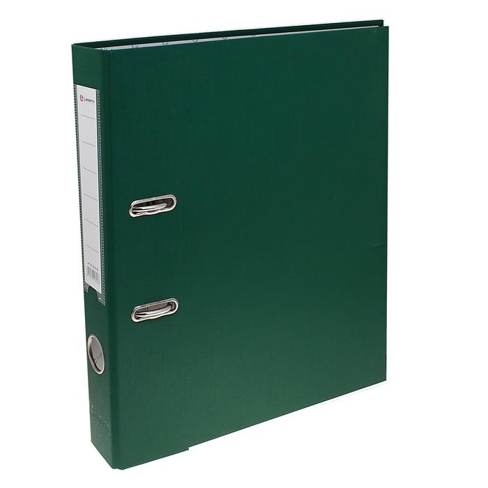 Папка-регистратор А4, 50мм Lamark металлический уголок, Зеленая