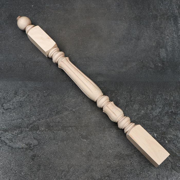 Балясина деревянная, 8×8×110 см, массив бука, сорт АВ