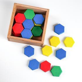 Мозаика шестигранная 4 цвета