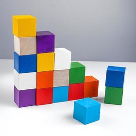 Color cubes (18 pcs.)