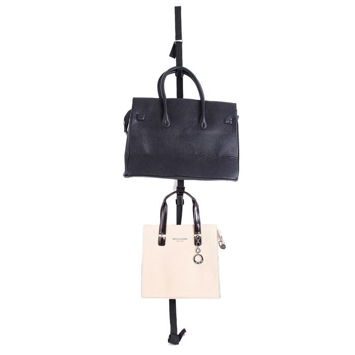 Ремень для подвешивания сумок на дверь, 2 шт, 14 крючков